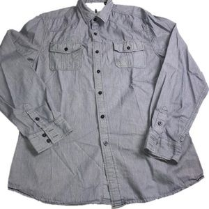 i JEANS BY BUFFALO button shirt